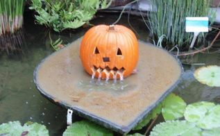 happy halloween, halloween decorations, outdoor living, ponds water features, seasonal holiday decor