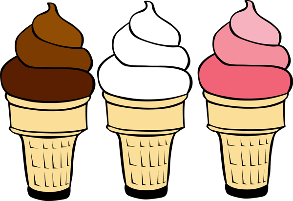 Ice cream cone swirl. Grab this free clipart