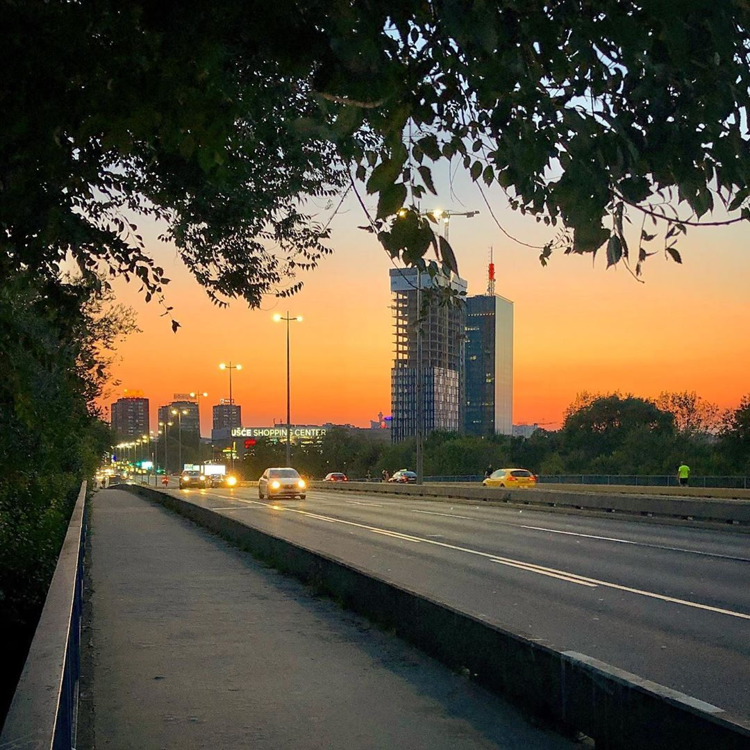 La Puesta De Sol En Belgrado Sunset Puestadesol