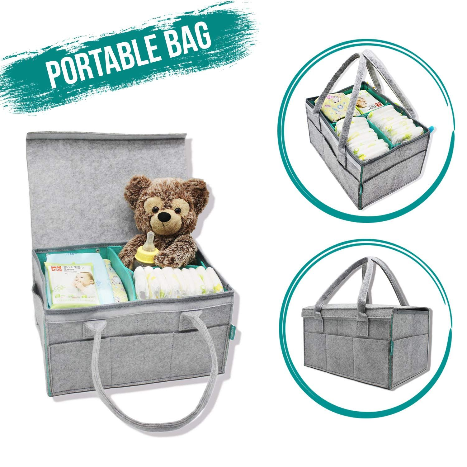 Zooawa Foldable Travel Bassinet 3 In 1 Diaper Bag Portable Collapsible Bassinet And Travel Changing Station For Home Travel Travel Bassinet Bassinet Baby Bed