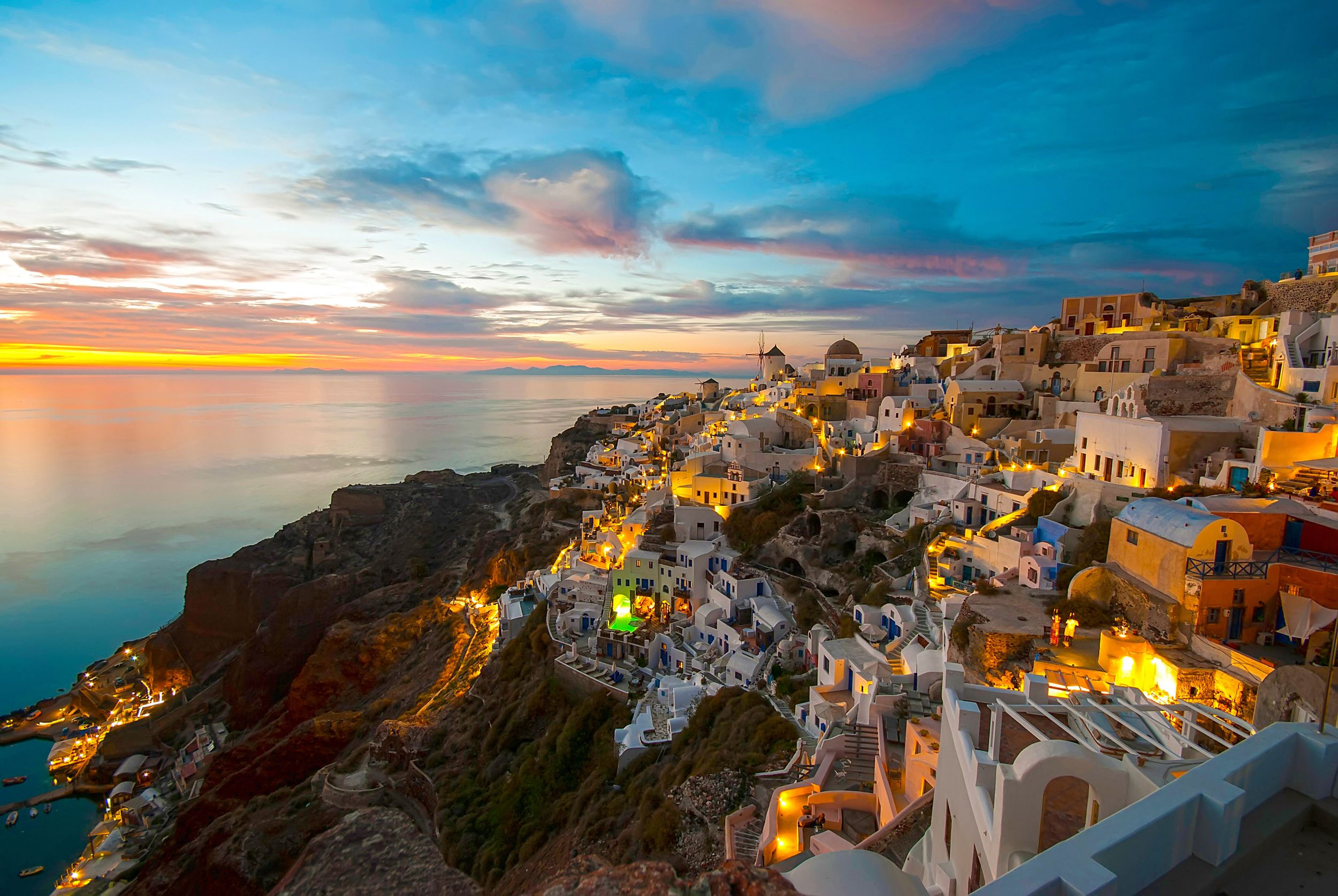 20 Of The Most Beautiful Views In The World Santorini