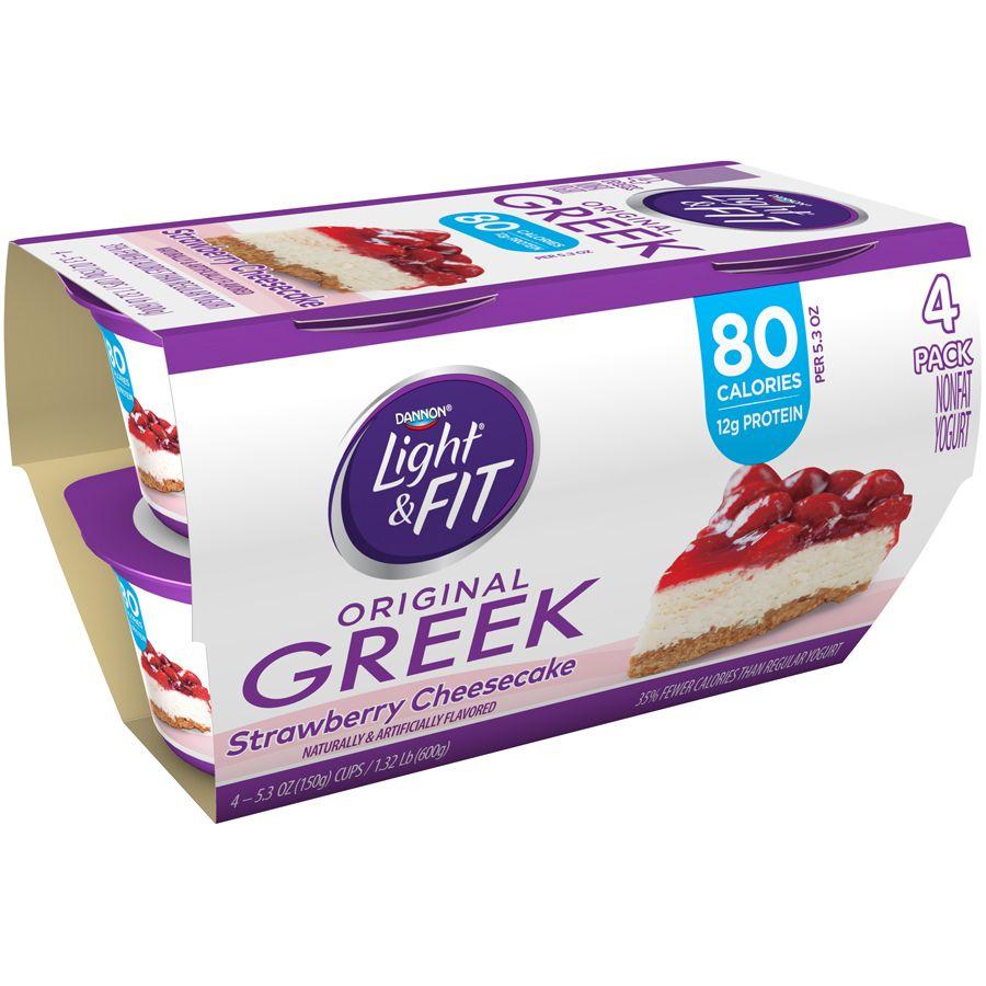 Get 1 off dannon light fit greek yogurt at publix