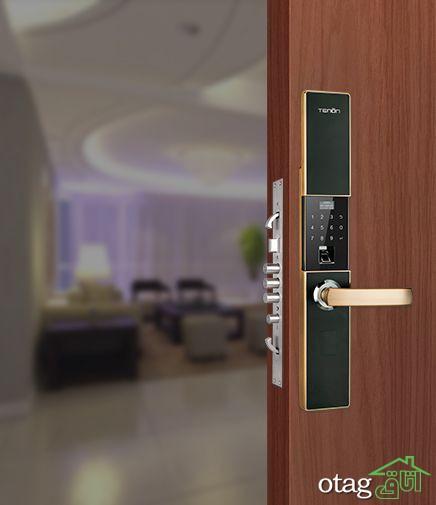 معرفی انواع سنسور درب و پنجره برای امنیت خانه شما Home Security Tips Smart Door Locks Door Locks