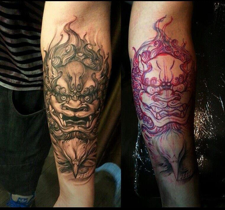 Beautiful (With images) Foo dog tattoo, Foo dog tattoo
