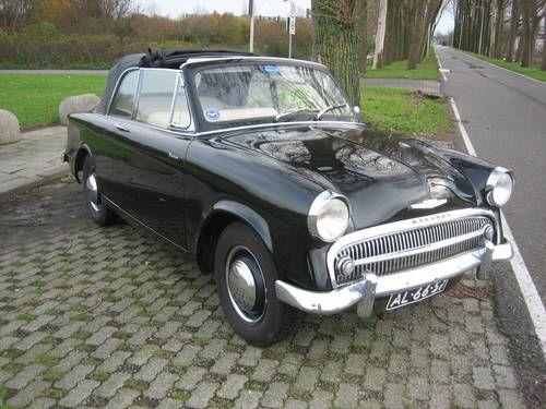1957 Hillman Minx Convertible Series I