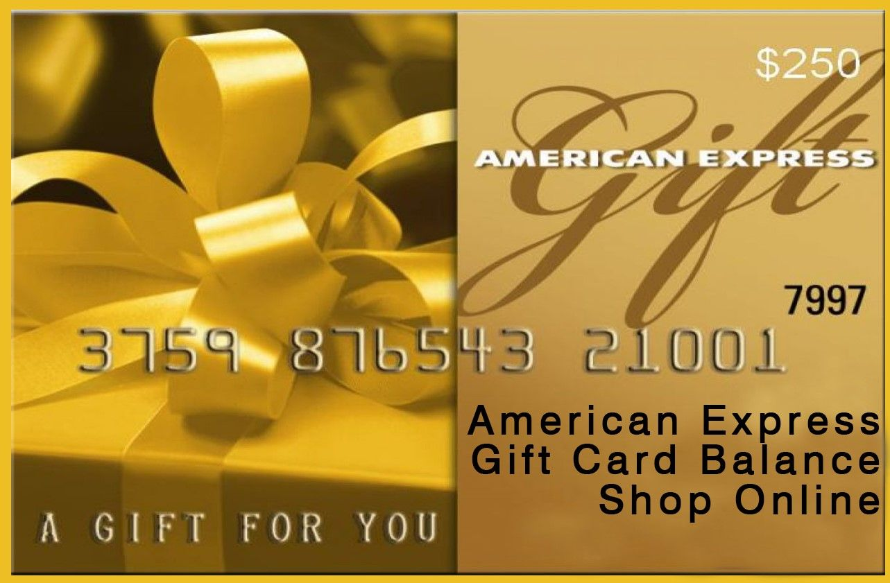 How To Activate American Express Gift Card Balance Express Gifts American Express Gift Card Gift Card Balance