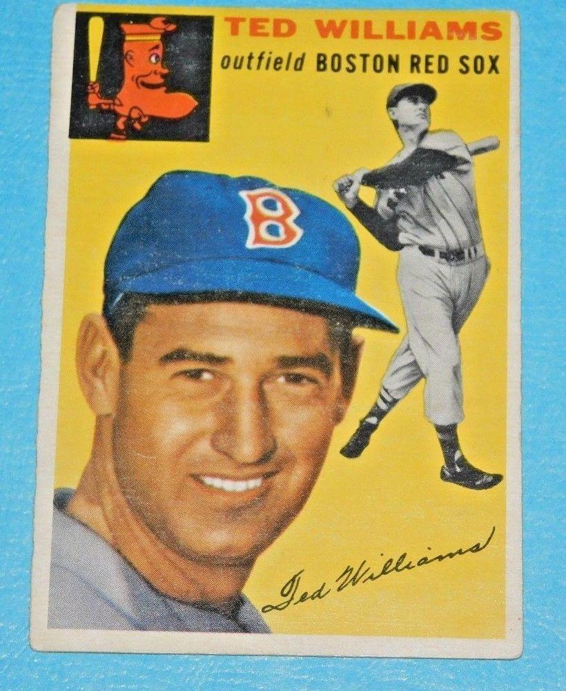 1954 topps ted williams 250 baseball card definite psa
