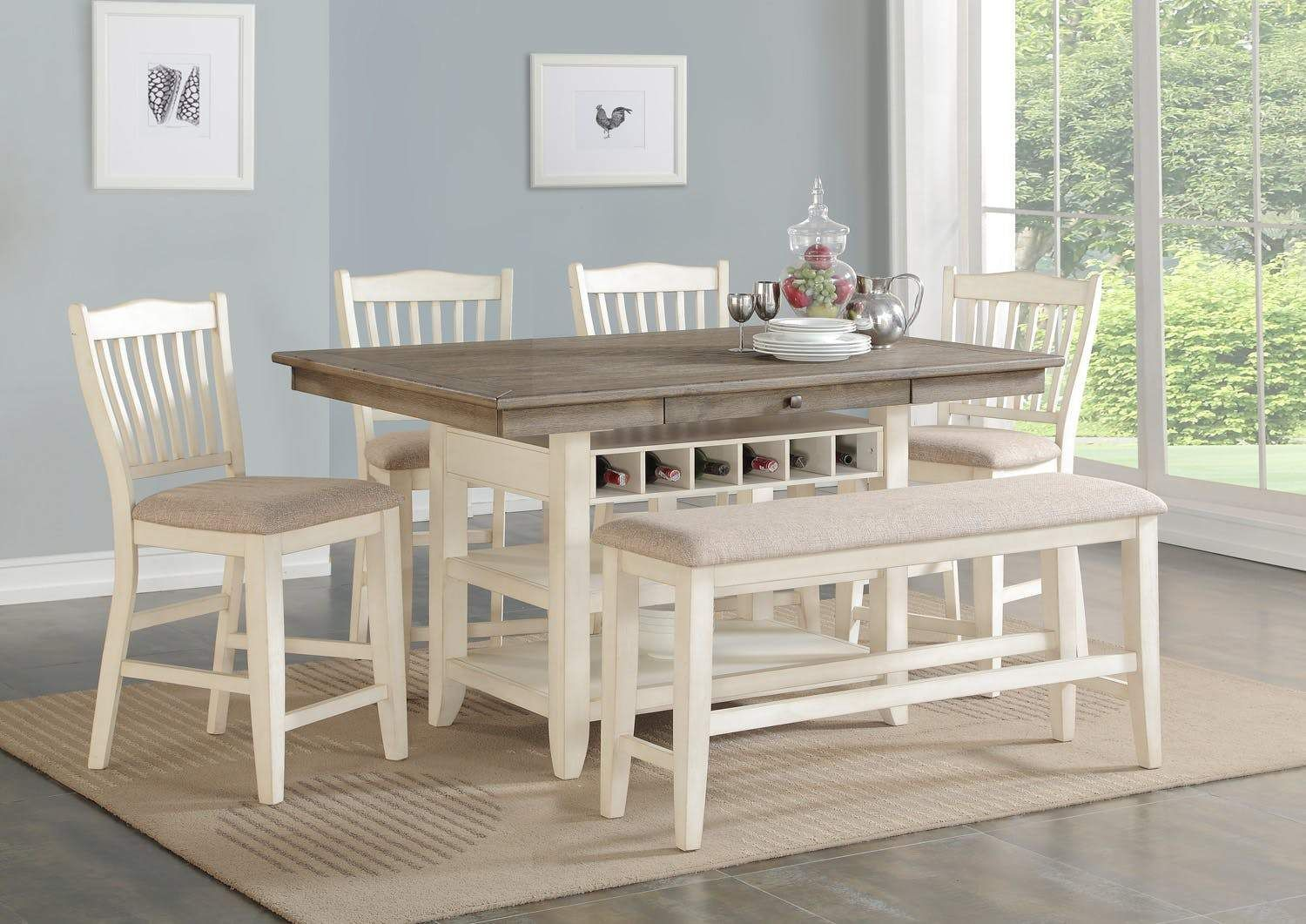 Dublin Counter Dining Set Counter Height Table Counter Height Dining Sets Counter Height Dining Table