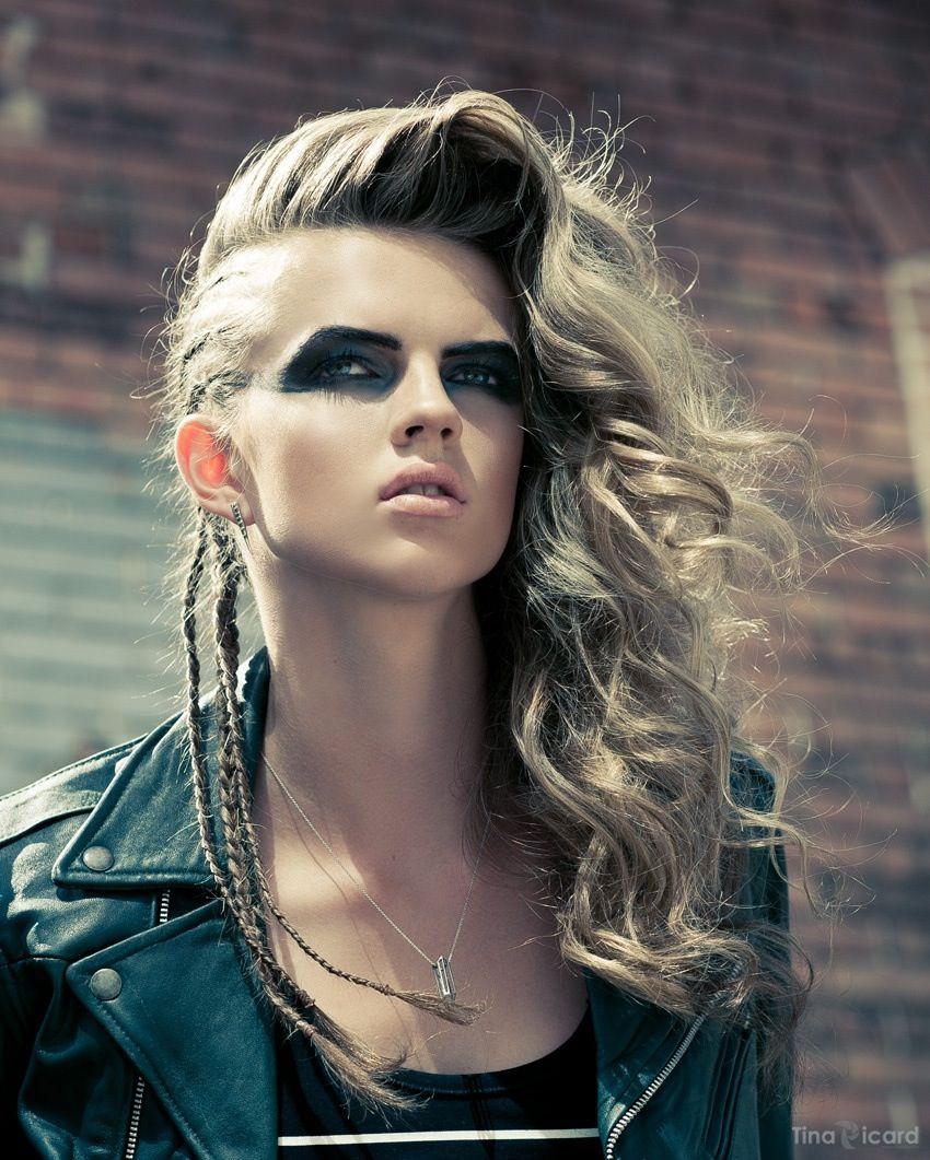 Braids Rock Hairstyles Punk Hair Hair Styles