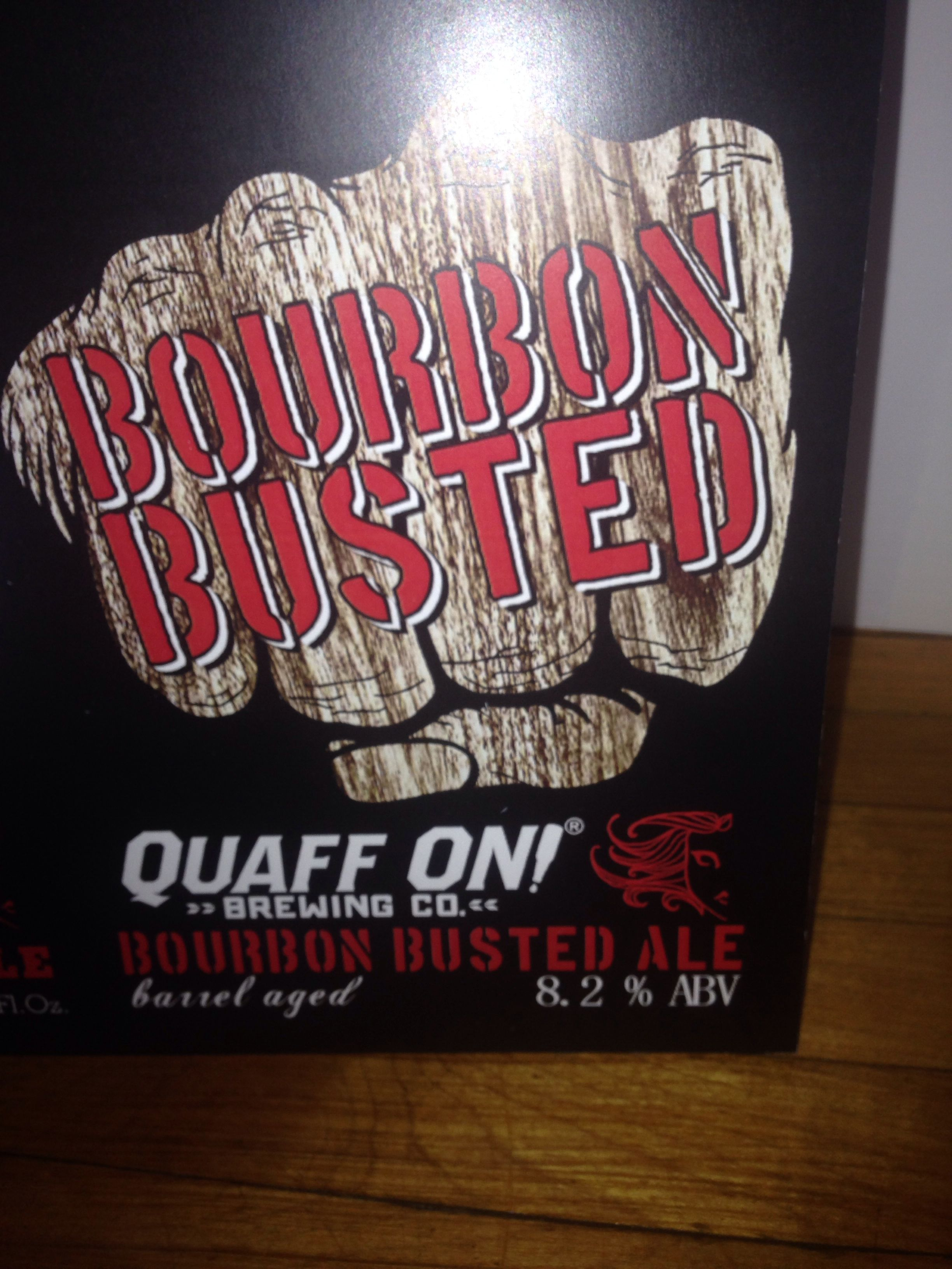 Bourbon Busted Knuckle Ale Our Signature Ale Busted Knuckle