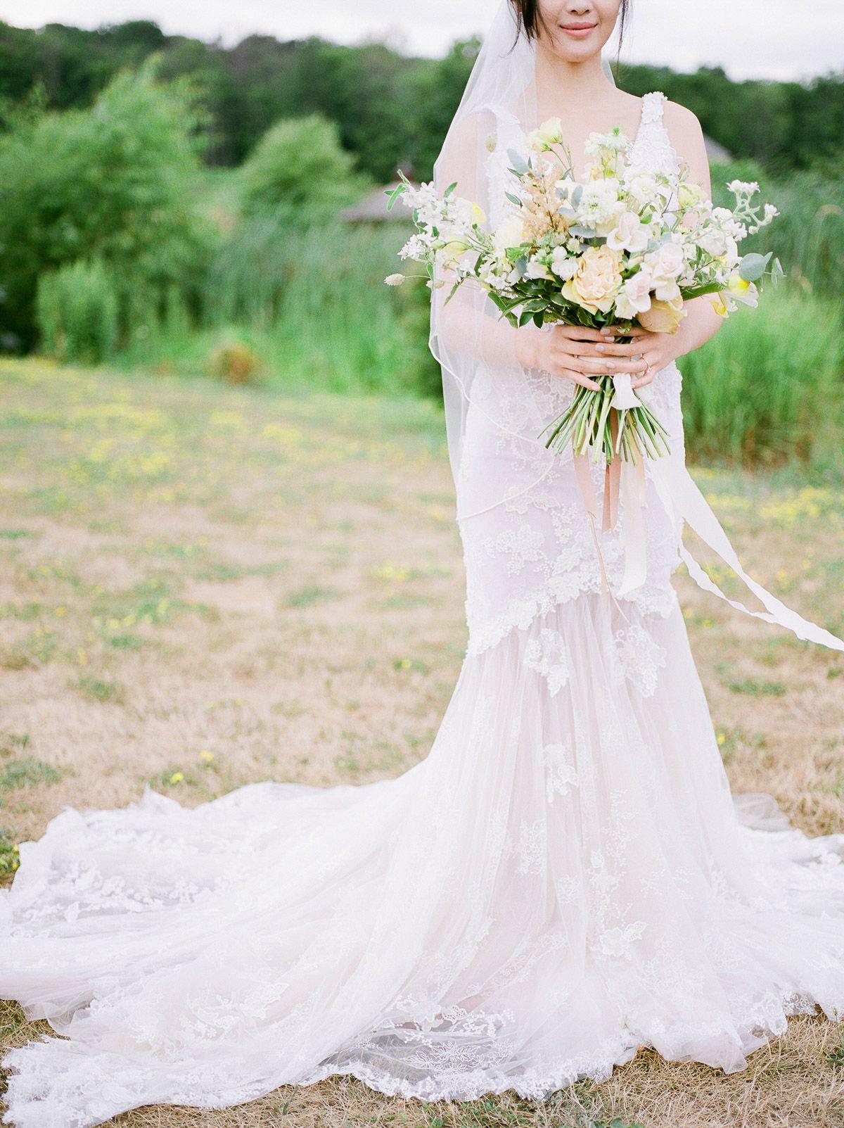 Jennifer Xu Rosewood Estate Winery Wedding Dresses Wedding