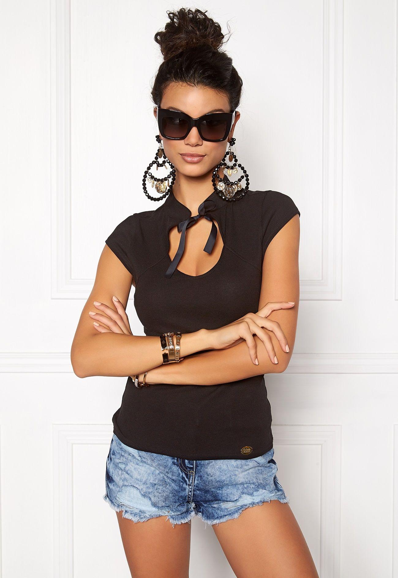 3a816388 Chiara Forthi Intrend Marcha Top Black - Bubbleroom   Inspiration ...