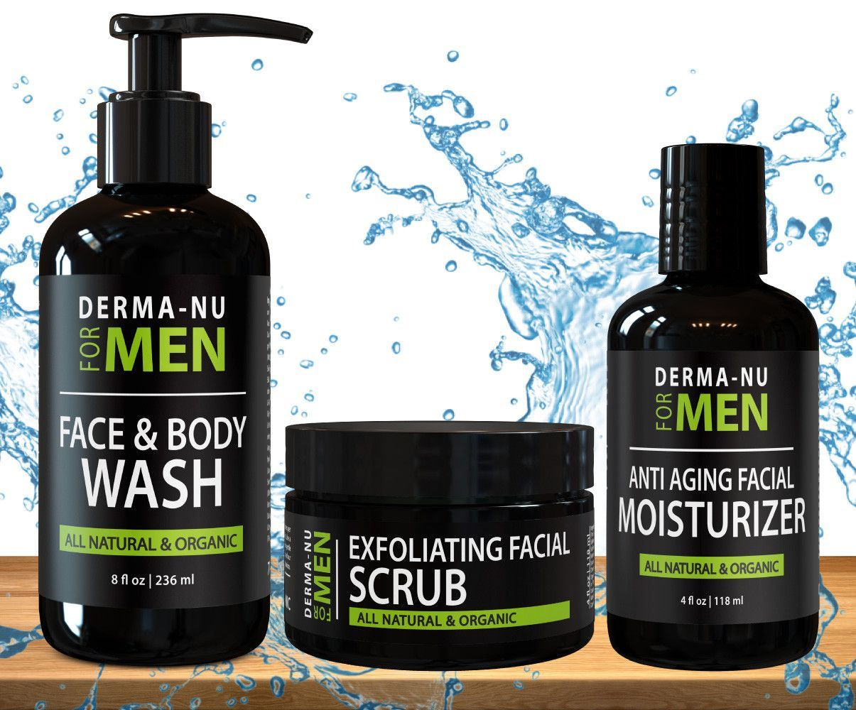 Men S Facial Kit Face Moisturizer Anti Aging Facial Moisturizer Anti Aging Natural Face Wash