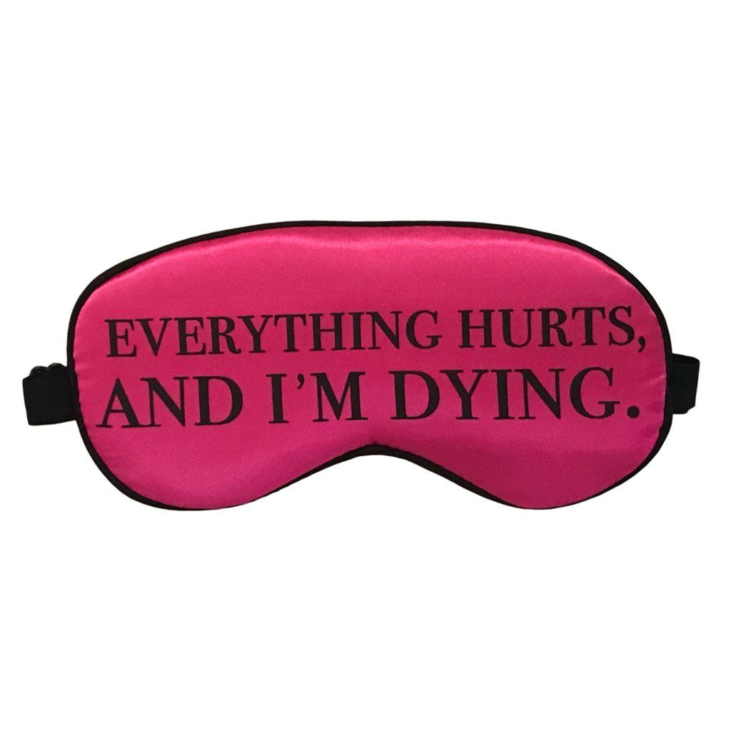 Snark City Everything Hurts and Im Dying Water Bottle