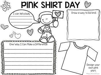 Anti-Bullying Activities and Pink Shirt Day Activities