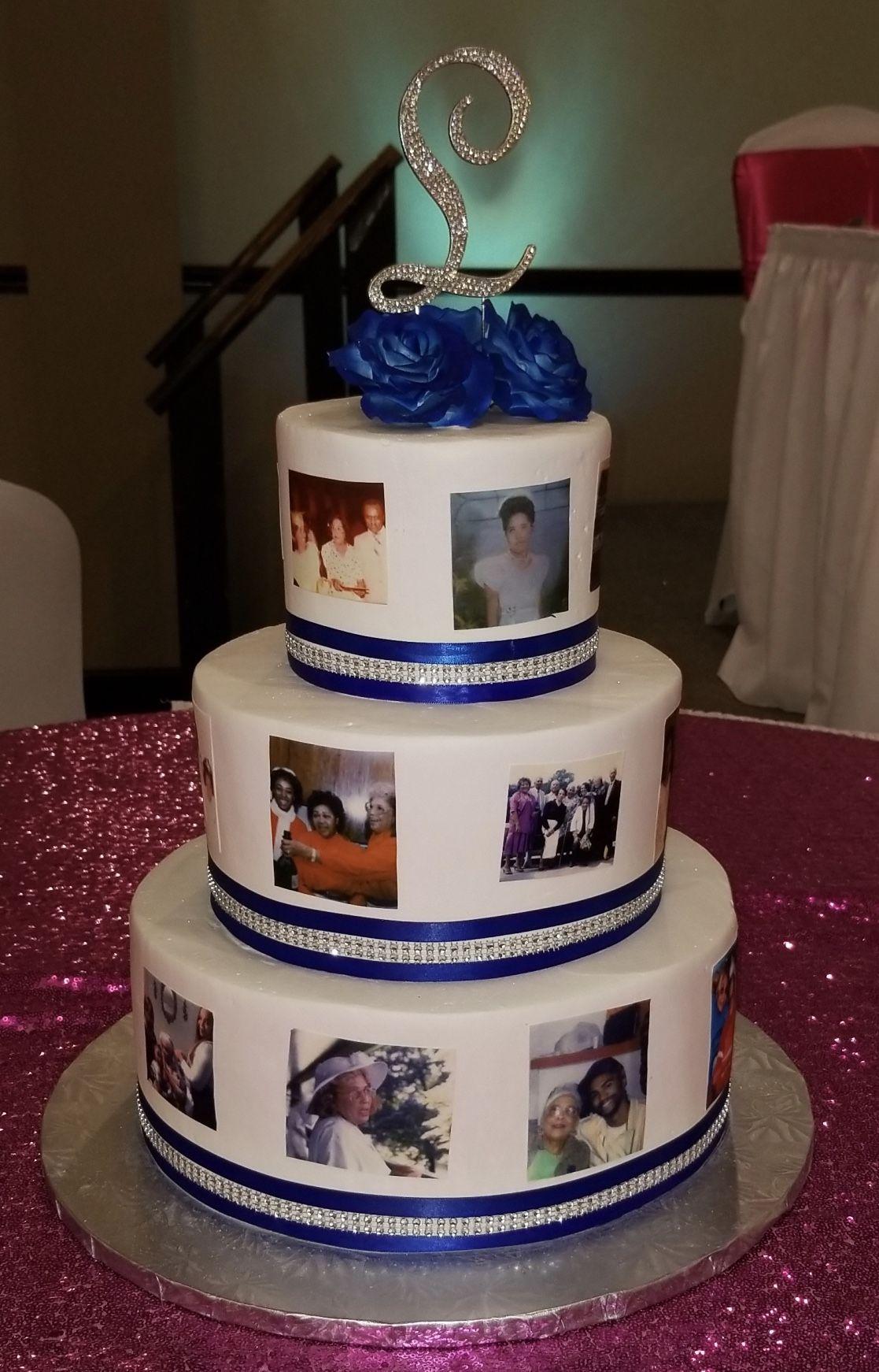 Astonishing Calumet Bakery Milestone Birthday Cake With Images Milestone Personalised Birthday Cards Epsylily Jamesorg