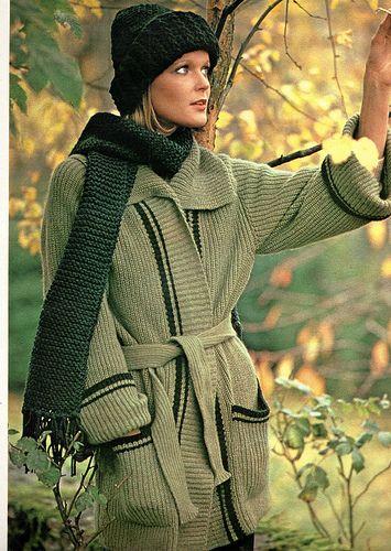 The 1970s-1974 Jours de France -Winter fashion