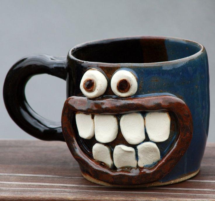 Image Result For Crazy Coffee Mug Mugs Clay Mugs Ceramic Mugs