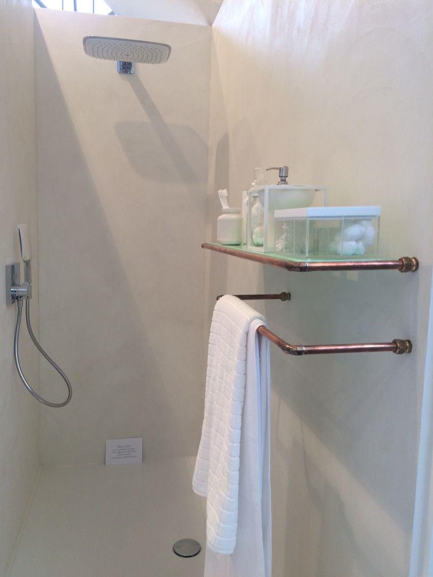 Copper bathing | koper bad | woonbeurs 2014