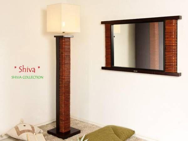 Bambus stehlampe shiva bambusmöbel für dein schlafzimmer