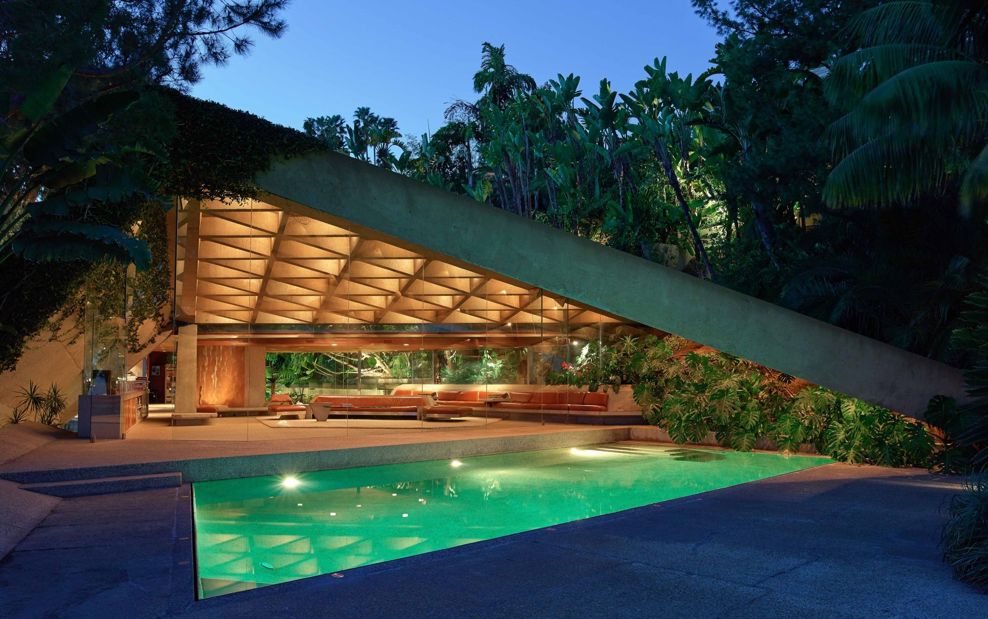 Gallery Of John Lautner S Goldstein House Gifted To Lacma By Its Owner 1 James Goldstein House John Lautner Famous Houses