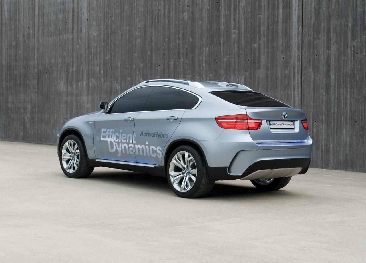 2007 BMW X6 ActiveHybrid Concept | BMW | Pinterest | Bmw x6, BMW and ...