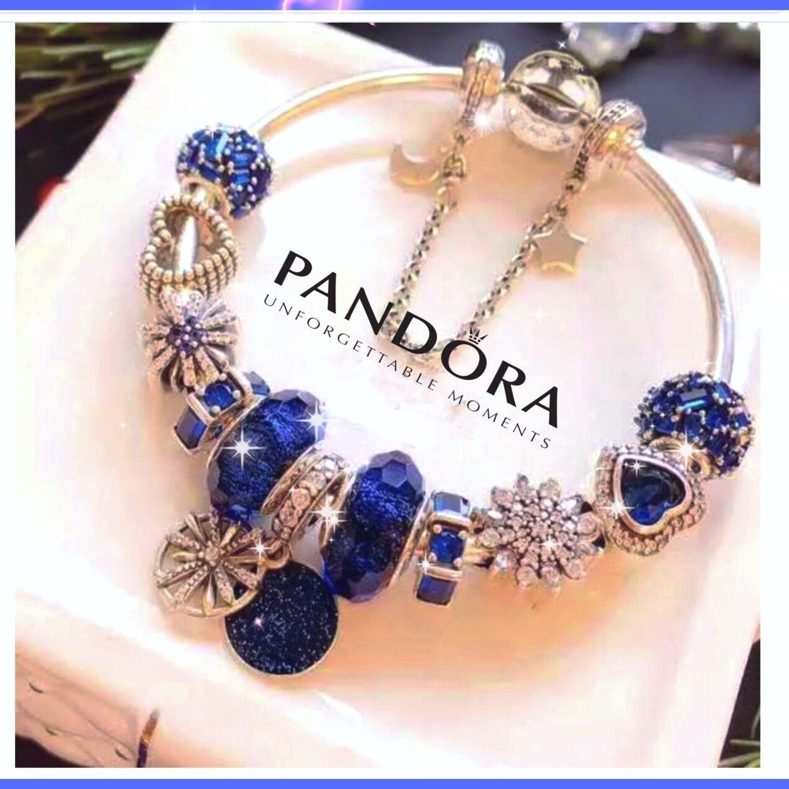 Pandora 925 Sterling Silver Bangle With 11 Pandora 925 Sterling Silver Cz Charms Set Size 7 Pandora Bracelet Designs Pandora Jewelry Pandora Jewelry Bracelets