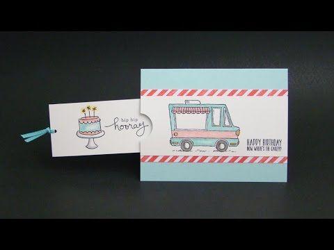 Tasty Trucks Pull Card Youtube Tasty Trucks Stampin Up