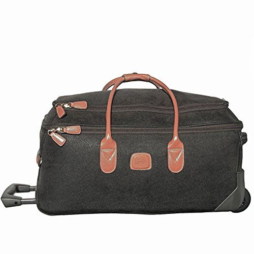 ee46c861d5c0 Brics Luggage Life 21 Inch Carry On Rolling Duffle Olive One Size     For  more information