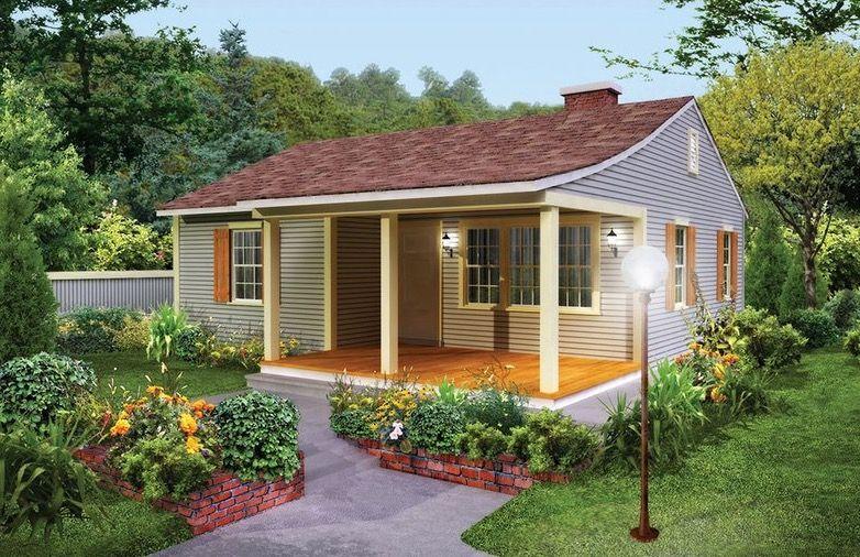 Fachada plano de casa dos dormitorios planos de casas for Modelos de casas minimalistas