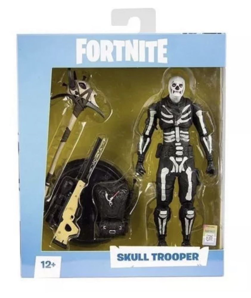 Fortnite Skull Trooper 7 Inch Action Figure By Mcfarlane Toys Brand