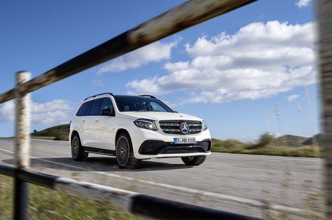 Chi tiết Mercedes GLS-Class 2017, 'S-Class' của dòng SUV - Giá Xe Mercedes Vito | Mercedes Hàng Xanh