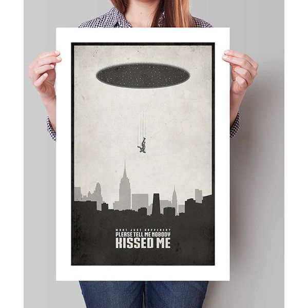 THE AVENGERS Inspired Iron Man Wormhole Minimalist Movie Poster - Avengers inspired home decor