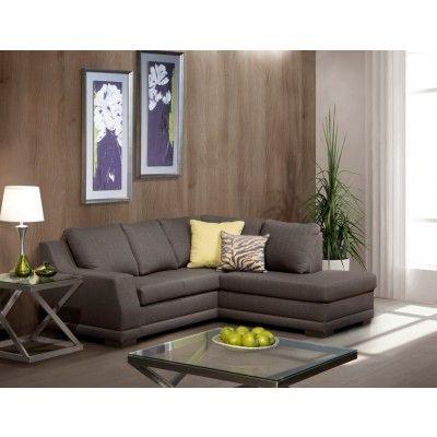 20804 Canape Sectionnel Deux Pieces En Tissu Home Decor Furniture Sectional Couch
