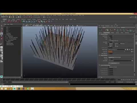 XGen (Autodesk Maya) - Part 07 - Preview/Output Settings - YouTube