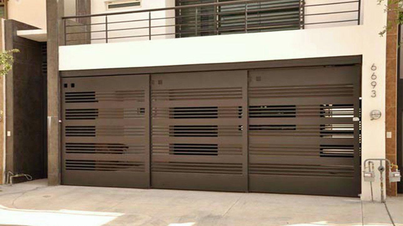 Puertas y portones de herreria m xico d f 2015 for Puertas para casas minimalistas