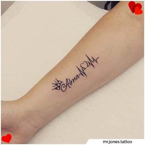 Tatuajes De Parejas Significados Y Mas De 80 Ideas Para Tatuajes De Parejas In 2020 Tattoos Name Tattoos For Moms Cute Hand Tattoos