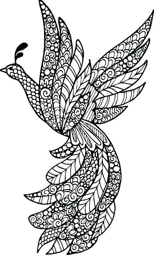Printable Complicated Coloring Pages Coloring Mandalas In 2020 Mandala Coloring Books Bird Coloring Pages Animal Coloring Pages