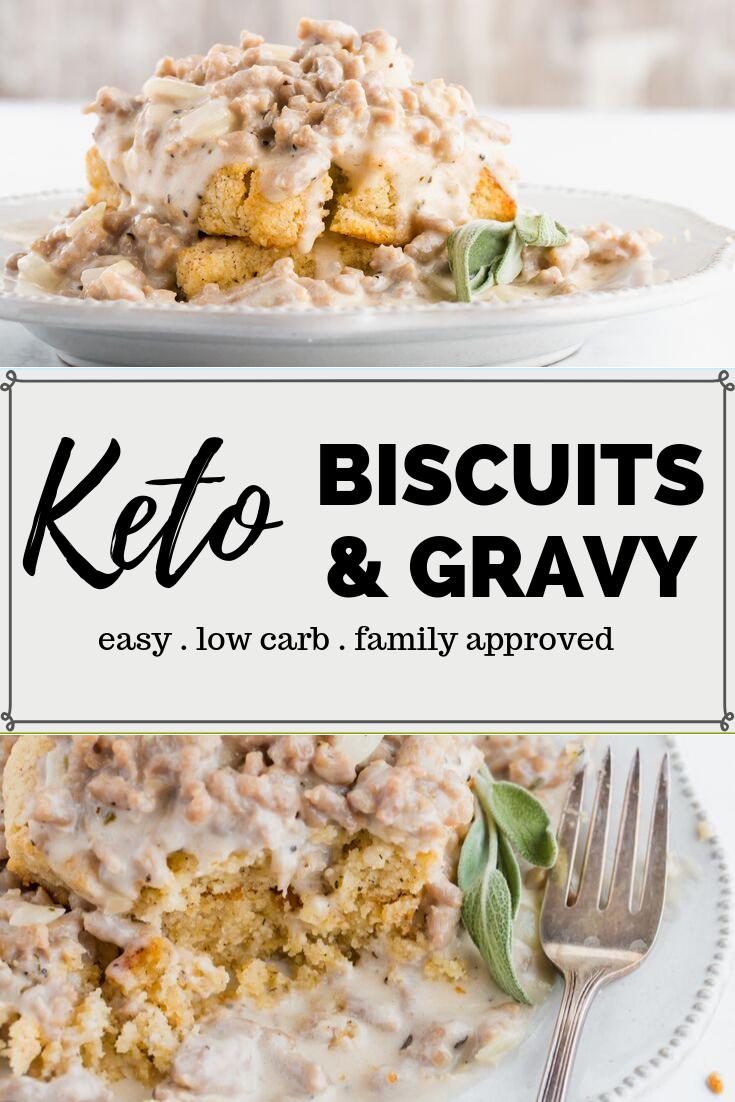 Keto Biscuits And Gravy Recipe Ketofocus Recipe Recipes Keto Biscuits Gravy Recipes