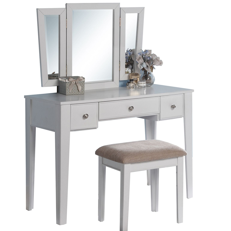 Bobkona adar vanity set with mirror products pinterest vanity