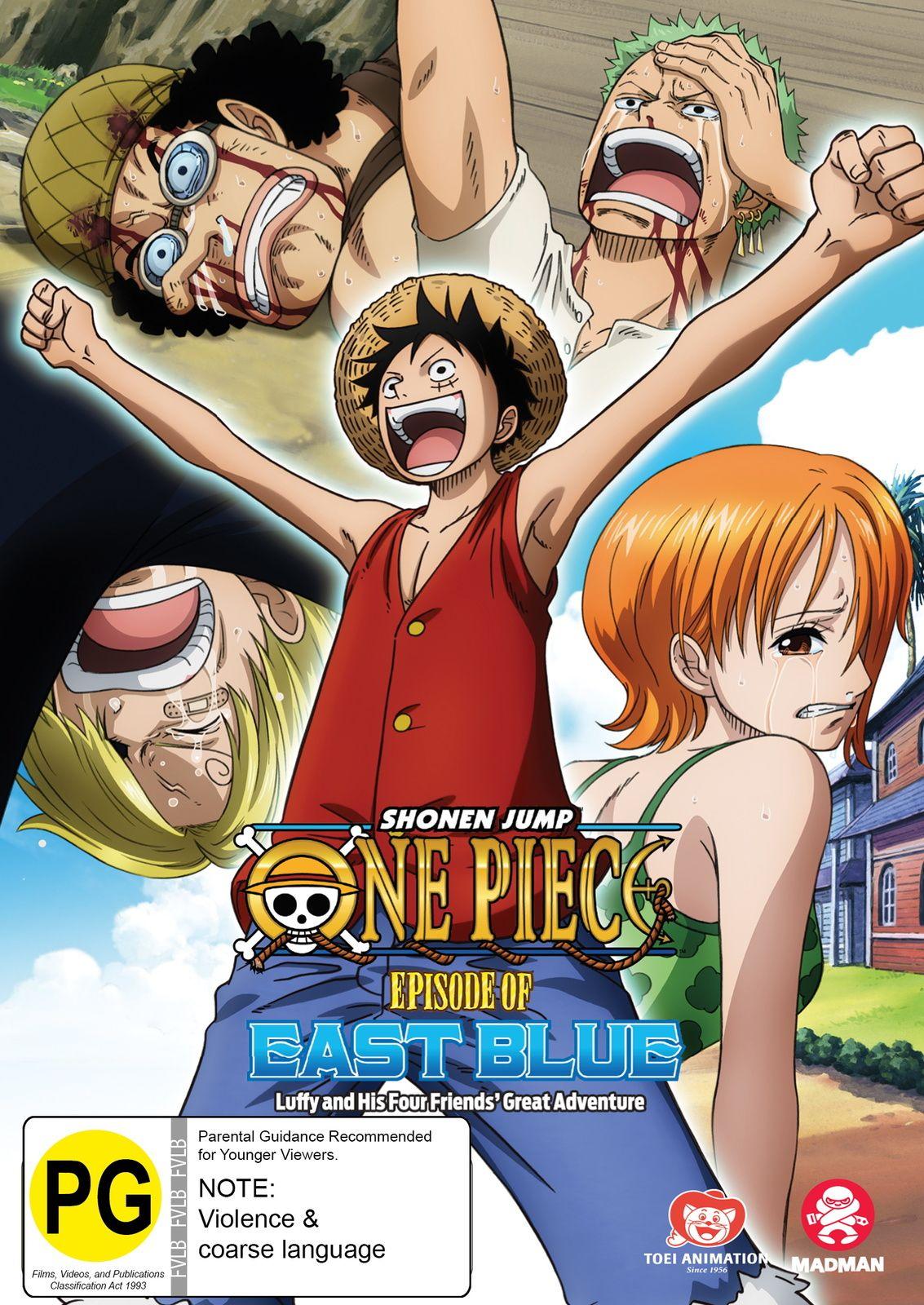 One Piece Episode 0 Sub Indo : piece, episode, Piece, Episode, Blue:, Luffy, Friends', Great, Adventure, Episodes,, Anime,, Anime