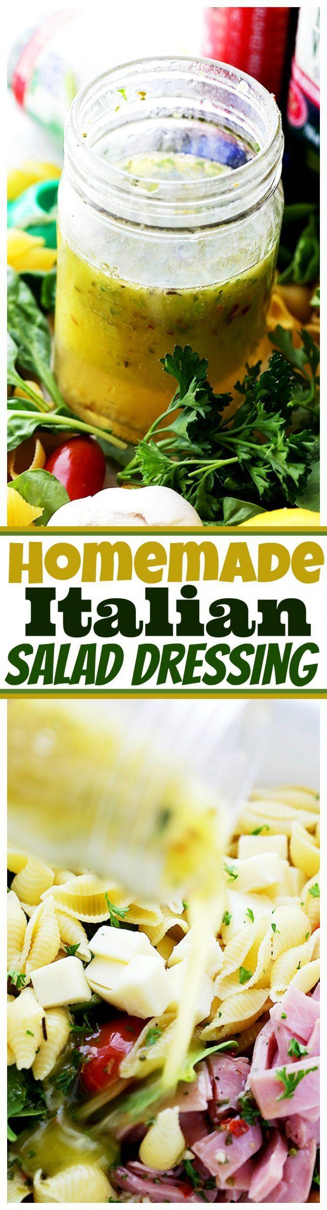 how to make zesty italian dressing