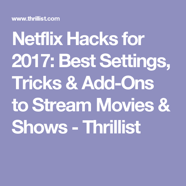 Is netflix the best option 2017