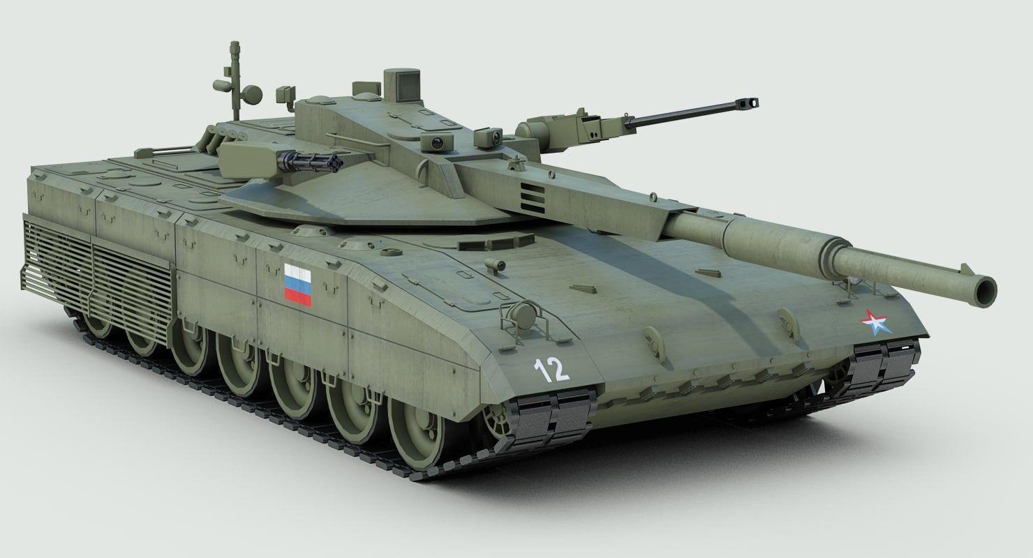 russian t14 armata battle tank 3d 3ds | Tanks military, Battle tank, Tank