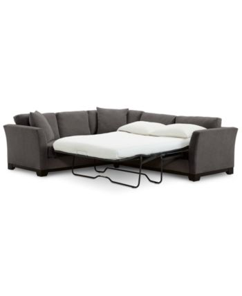 Furniture Elliot Ii 108 Fabric 2 Pc Sleeper Sofa Sectional