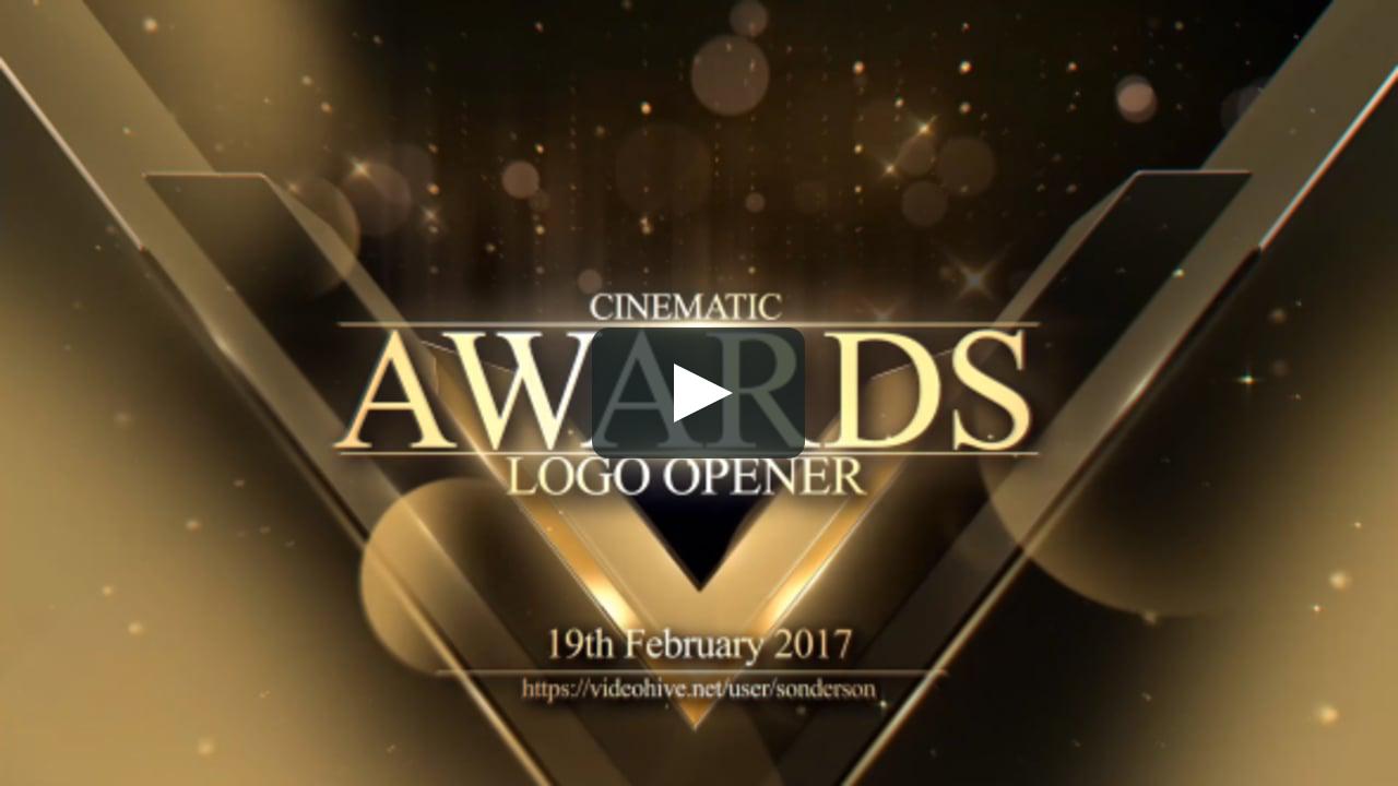Awards Logo Opener Motion Graphics Videoinfographica Awards Logo Opener Motion Graphics Aftereffects A Award Poster Webpage Design Motion Graphics