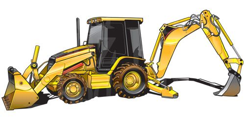 cat backhoe clipart equipment pinterest caterpillar equipment rh pinterest com case backhoe clipart backhoe clipart png