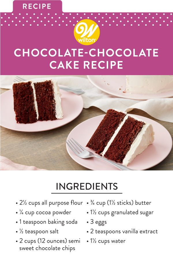 Double Chocolate Cake Recipe How To Make Chocolate Cake Recipe In 2020 Chocolate Cake Recipe Cake Recipes Baking