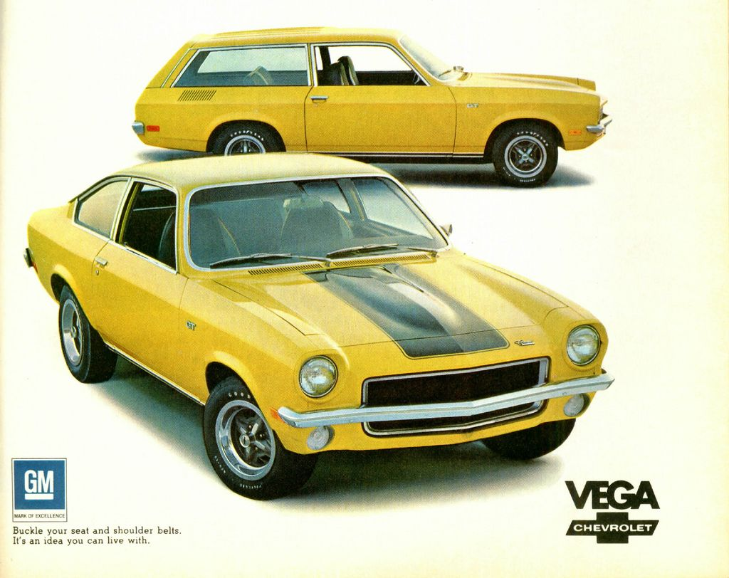 All Chevy 73 chevy vega : An LS-powered Chevy Vega from Schwartz Performance | Vroom Vroom ...