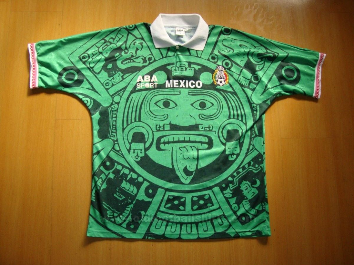 3537c037bc2 ABA Sport Mexico jersey. Used Between 1996 to mid 1998. Worn by players  like  Luis Hernandez